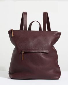 An update on our bestseller, meet our Stevie backpack. Handmade in a family-run factory in Portugal, it is crafted from supple leather that will age beautifully over time. Practical yet stylish, it features strong, bridle adjustable straps and an exterior front pocket. Other features include an interior purse pocket, top handle and a zip closure to keep your belongings safe.    *  H:34cm x W:37cm x D:12.5cm  *  Adjustable straps  *  Top handle  *  Zip closure at top  *  Exterior front pocket…