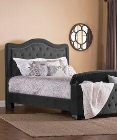 Look what I found on #zulily! Pewter Trieste Bed Frame #zulilyfinds