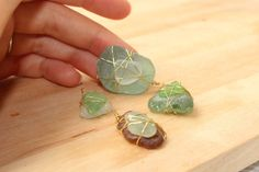 A Gift for Mom – Easy Sea Glass Jewelry | Pressed Words