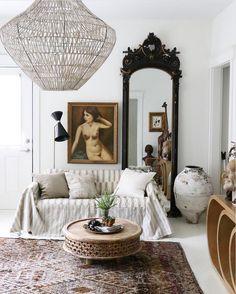 my scandinavian home: Step inside Jennifer Harrison's bohemian style home #livingroom #Portrait #bohemianstyle