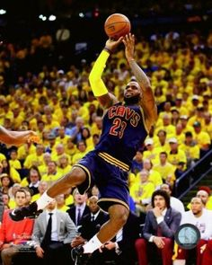 c95528f7db90 LeBron James Game 2 of the 2015 NBA Finals Photo Print (16 x 20)