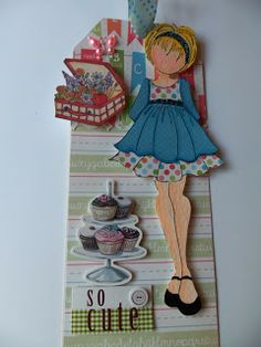 Prima Mixed Media Doll Stamps