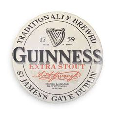 Pints of Guinness make you strong! Show your appreciation for one of the oldest and greatest brews around with the awesome button! Each pin back button measures approximately 1.5 inches in diameter an