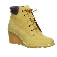 new concept 489a4 8e831 Coole Timberland Wedges  Wedge-Boot Wheat (maisgelb) im Salamander  Onlineshop Salamander Schuhe