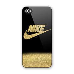 Hot RARE Nike Gold Glitter Paint Custom Print On Cover For iPhone6/6s 6s plus #UnbrandedGeneric