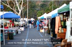15 FLEA MARKET TIPS; my strategies and secrets.