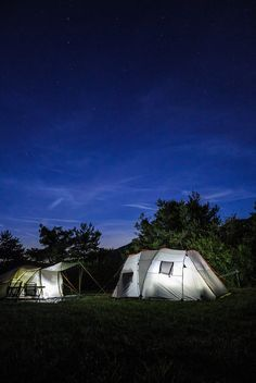 Tents in clear night by Siegfried Mairböck on 500px