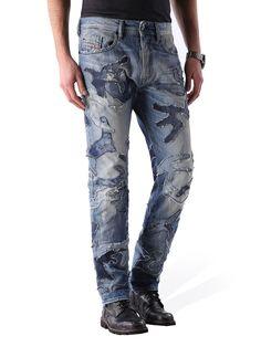 BUSTER 0853D, Blue jeans Jogg Jeans, Diesel Jeans, Blue Jeans, Denim, Pants, Fashion, Trouser Pants, Moda, La Mode