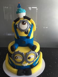 Minion Birthday Cake Melbourne