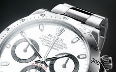 Rolex Daytona Silver by Maciek Ptaszynski, via Behance