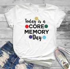 Today is a Core Memory Shirt, Inside Out Shirt, Disney Trip Shirt, EPCOT Shirt, Disney Shirt