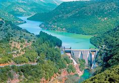Artificial lake of Ladonas Arcadia Peloponnese Zorba The Greek, Water Dam, Wallpaper App, Capital City, Sailing, Greece, Rivers, Lakes, Explore
