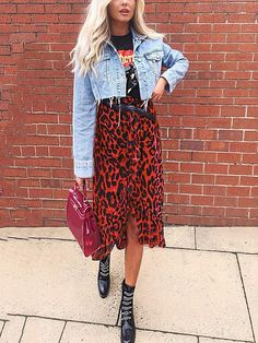 Casual Fall Outfits That Will Make You Look Cool – Fashion, Home decorating Fall Fashion Outfits, Casual Fall Outfits, Edgy Outfits, Mode Outfits, Modest Fashion, Look Fashion, Edgy Fall Fashion, Indie Hipster Fashion, Apostolic Fashion