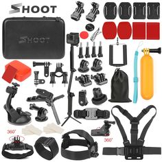 SHOOT Action Camera Accessory pack for GoPro and compatible  Price: $38 & FREE Worldwide Shipping  #gadgets #gadgetsale #newtech #gadgethawk #freeworldwideshipping #thegadgethawk #toptech #electronics #onlinegadgets #ecommercetech