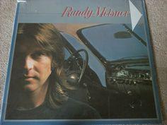 "Randy Meisner / SEALED 12"" Vinyl LP Record / Asylum 6E-140 / Eagles / RARE #RandyMeisner #Eagles #Music #Album"