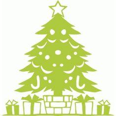 Silhouette Design Store - View Design #50579: christmas tree