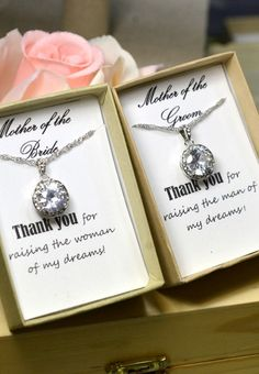 2 SETS : Two Mother of the bride or groom by thefabjewelrywedding