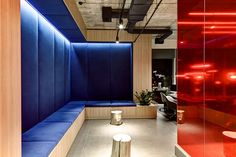 Showroom and office furniture by Zooi interiordesigners on Behance
