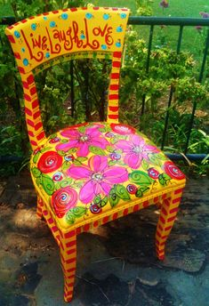 Customized, Whimsical Chair