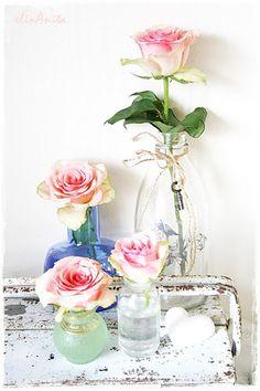 shabby chic #decor #shabbychic #flowers #floral