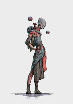 for unannounced project Geeks, Character Inspiration, Character Design, Sci Fi Characters, Fictional Characters, Alien Concept, Fantasy Story, Cyberpunk Art, Art Store