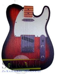 Tappetino per mouse forma Telecaster - Stralu Music Store