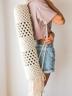This is a Yoga Mat Bag!
