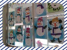 FREE Snowman Craft template