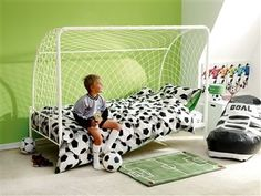 kids football bed