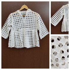 Buy yours today: Ruffled - Circula..., visit http://ftfy.bargains/products/ruffled-circular-cut-work-white-top?utm_campaign=social_autopilot&utm_source=pin&utm_medium=pin  #amazing #affordable #fashion #stylish