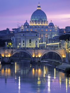 St. Peter's Basilica, Rome, Italy Photographic Print at AllPosters.com