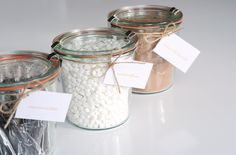 Hot-Chocolate-Kits - Nice for a winter wedding!!
