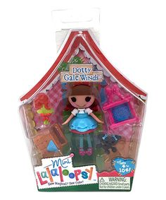 Look what I found on #zulily! Mini Lalaloopsy Dotty Gale Winds Doll #zulilyfinds