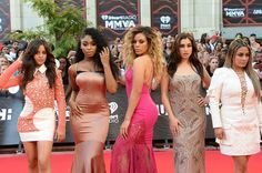 Fifth Harmony on the #MMVAs red carpet