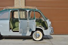 This 1956 Fiat Multipla is a largely original left-hand drive example with an indicated 11k km (~7k miles) from new. This uncommon first-year example was likely imported after military service and reportedly spent 40 years with its original owner. This Multipla has benefitted from a mild cosmetic fr