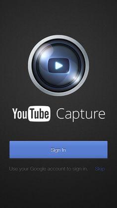 ONE: Google presenta la nueva versión de Youtube Capture para iPhone