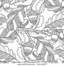 Still Life With Watering Can Garden Flowers And Cherries For Coloring Book Vector Doodle Floral Illustration In Black White