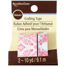 Recollections™ Washi Tape, Pink Damask