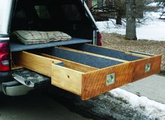 Trout Bum Truck Drawers & How to Install a Sliding Truck Bed Drawer System | Pinterest | Truck ...