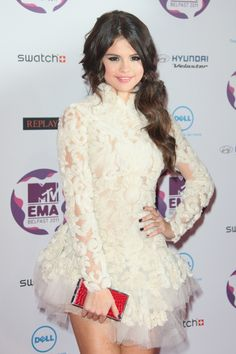 selena gomez, ice princess marchesa dress