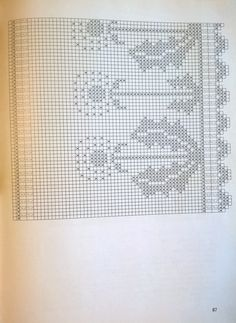 Crochet Curtains, Crochet Doilies, Crochet Flowers, Crochet Lace, Filet Crochet Charts, Crochet Borders, Knitting Charts, Crochet Coaster Pattern, Crochet Patterns