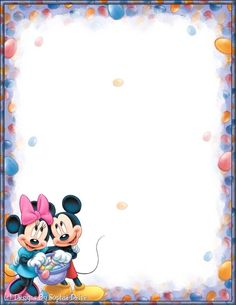Disney Borders For Microsoft Word Printables - note papers & borders ...