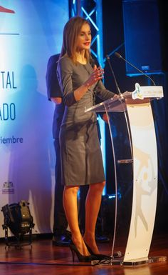 Queens & Princesses - Queen Letizia attended the opening of voluntary Congress which was held in Palma de Mallorca.