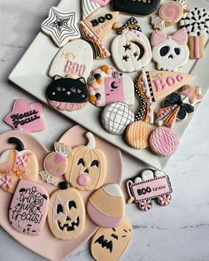 Cookie Frosting, How To Make Cookies, Trick Or Treat, Cookie Decorating, Sugar Cookies, Treats, Desserts, Handmade, Food