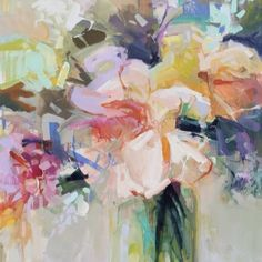 Art Journal Inspiration, Painting Inspiration, Romantic Artwork, Watercolor Paintings, Watercolors, Color Pencil Art, Paintings I Love, Arte Floral, Abstract Flowers