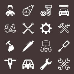 Mechanical Icons. Download thousands of Free Psd, Vectors, Flat Icons, UI Kits, Patterns on GrfxPro