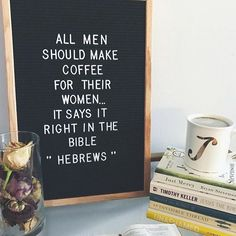 Throwing in back to this gem on this fab day ☕️ but I must say, everyday is national coffee day for Bibles and Coffee  P.s. Wanna hear a joke.... ? Decaf.