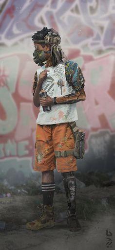 Babiru Kid 02 by duster132.deviantart.com on @DeviantArt