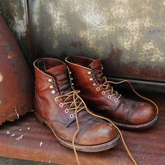 Iron Ranger Boots by Red Wing #iron_ranger #boots #red_wing