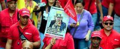 El pueblo marchó en respaldo a #Maduro y diputado informó que van 60 infiltrados detenidos en #colas